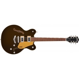 Gretsch G5622 Electromatic Center Block Double-Cut with V-Stoptail Laurel Fingerboard Black Gold Front