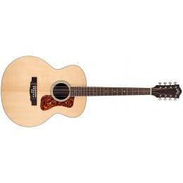 Guild BT-258E Deluxe 8-String Baritone Electro-Acoustic Guitar Front