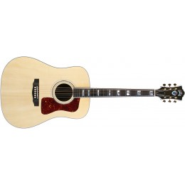 Guild D-55 Natural USA Series Dreadnought Acoustic Guitar Front
