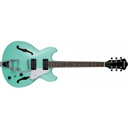 Ibanez-AS63T-SFG-Artcore-Vibrante-With-Bigsby-Sea-Foam-Green-Front
