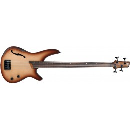 Ibanez SRH500F-NNF Natural Browned Burst Flat Fretless Bass