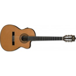 Ibanez GA5TCE Amber Electro Classical Guitar Front