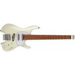 Ibanez ICHI10 Ichika Signature Headless Electric Guitar Vintage White Matte Front