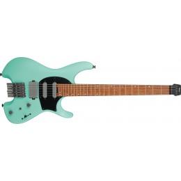Ibanez Q54 Headless Electric Guitar Sea Foam Green Matte Front