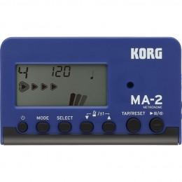 Korg-MA2-Pocket-Digital-Metronome-Blue-&-Black-Front