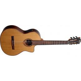 LAG OC118CE Occitania 118 Electro-Classical Guitar Front