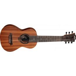 LAG TKT8 Guitalele 6-String Tenor Ukulele Front