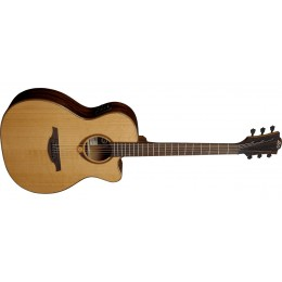 LAG T118ASCE Tramontane 118 Slim Electro-Acoustic Guitar Front
