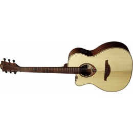 LAG TL88ACE Auditorium Cutaway Electro-Acoustic Guitar Left-Handed Front