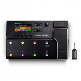 Line 6 POD Go Wireless Front With Wireless Adaptor