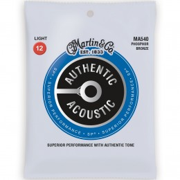 Martin MA540 Authentic Acoustic SP Phosphor Bronze Light