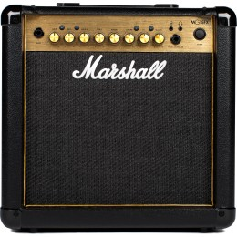 Marshall MG15GFX Guitar Amp Combo Gold Front