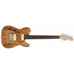Michael Kelly 59 Thinline Spalted Maple Front