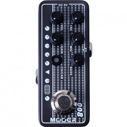 MOOER Cali MK 3 008 MMPA8 Guitar Preamp Pedal Top