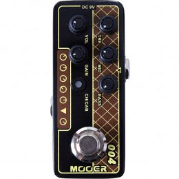 MOOER Day Tripper 004 MMPA4 Guitar Preamp Pedal