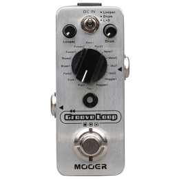 MOOER-MLP2-Groove-Loop-Drum-Machine-And-Looper-Front
