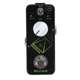 MOOER ModVerb Modulation Reverb Pedal MRV5 Effect Top
