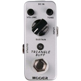 MOOER Triangle Buff Fuzz Pedal MFZ2 Top Controls