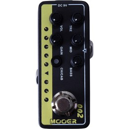 MOOER British Gold 900 002 MMPA2 Guitar Preamp Pedal