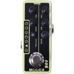 MOOER US Classic Deluxe 006 MMPA6 Guitar Preamp Pedal Top