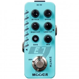 MOOER E7 Polyphonic Guitar Synth Pedal Front