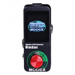 MOOER Radar Cabinet Simulator Front