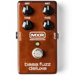 MXR Bass Fuzz Deluxe Front