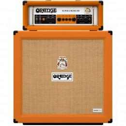 Orange Super Crush 100 With Crush Pro 412 Half Stack Pack Main