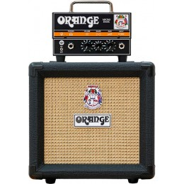 Orange Micro Dark PPC108 Black Half Stack Package Deal
