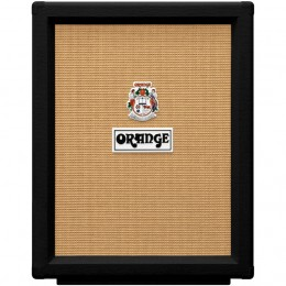 Orange PPC212V Vertical Speaker Cabinet Black Front