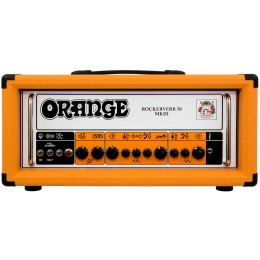 Orange Rockerverb 50 MKIII Head Guitar Amp Front