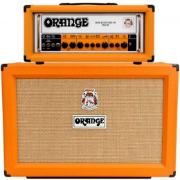 Orange Rockerverb 50 MKIII Head PPC212 Half Stack Deal