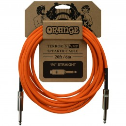 Orange Terror Stamp 20 ft (6m) Speaker Cable