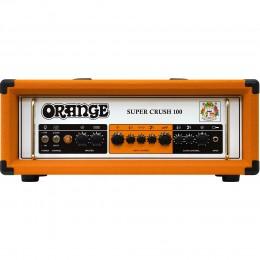 Orange Super Crush 100 Electric Guitar Head Amplifier Front