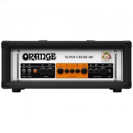 Orange Super Crush 100 Electric Guitar Amp Head Black Front