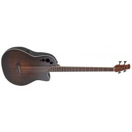 Ovation AEB4-7S Applause Elite Exotic 4-String Bass Mid Depth Vintage Varnish Front
