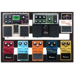 Pedaltrain Classic JR Pedalboard with Gig Bag PT-CLJR-SC with pedals