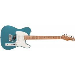 Reverend-Eastsider-S-Satin-Deep-Sea-Blue,-Roasted-Maple-Front