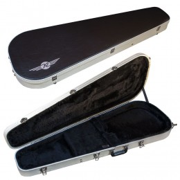 Reverend Two-Tone Large Guitar Case Front