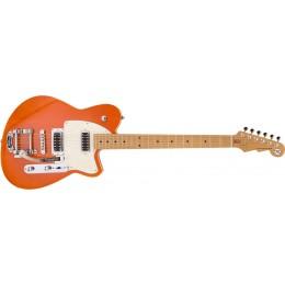 Reverend Flatroc Bigsby Rock Orange Front