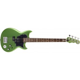 Reverend Mike Watt Wattplower 2 Satin Emerald Green Front