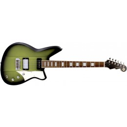 Reverend Warhawk Double Agent W Avocado Burst Front