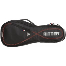 Ritter Performance RGP2-U Soprano Ukulele Bag Black Red