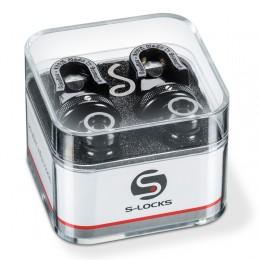 Schaller S-Locks Strap Locks Black Chrome