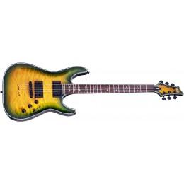 Schecter Hellraiser C-1 Passive Dragon Burst Guitar