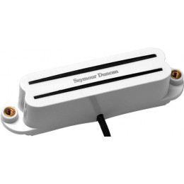 Seymour Duncan Hot Rails Strat SHR-1 White Bridge Mini Humbucker Pickup