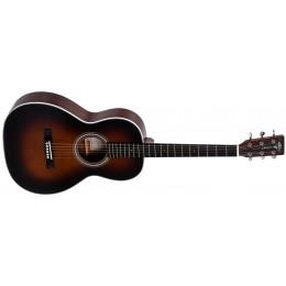 Sigma 00M-1STS-SB+ Sunburst Parlour Guitar Front