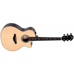 Sigma GZCE-3+ Ziricote Electro-Acoustic Guitar Front