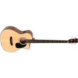 Sigma BMC-1STE+ Acoustic Bass Guitar Natural Front