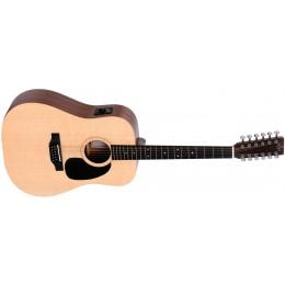 Sigma DM12E Acoustic 12 String Guitar